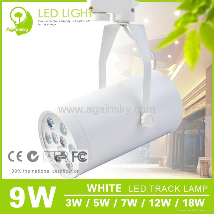 3W Black LED Track Lamp from AgainSky 4