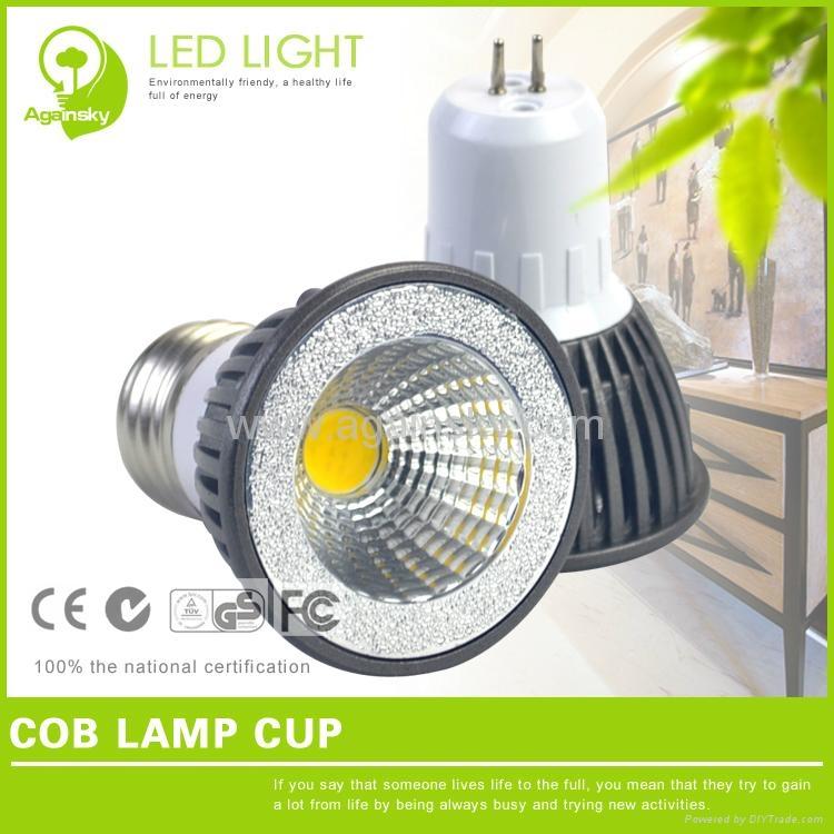E27/GU10/MR16 3W LED COB Lamp Cup 3