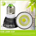 E27/GU10/MR16 3W LED COB Lamp Cup 4