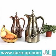Antique middle east brass jug bronze tea pot for sale