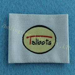 China supplier custom woven labels for clothing