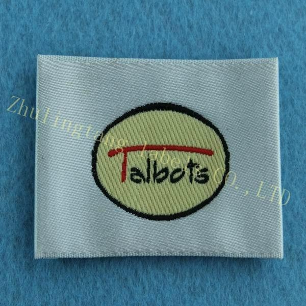 China supplier custom woven labels for clothing 1