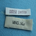 China supplier custom woven labels for clothing 2