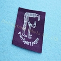 China supplier custom woven labels for clothing 3