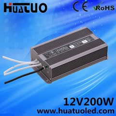 Aluminum Shell Water-proof's model 12V 16.6A
