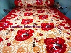Flannel Blanket Fabric