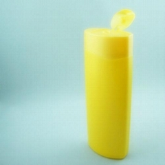 Plastic HDPE container bottle 500ml 750ml 1000ml for cosmetic shampoo body lotio