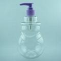 Plastic PET snowman bottle