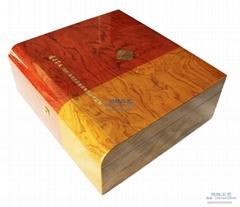 木質茶葉盒