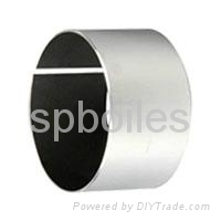 door hinge bushing,oilless teflon linned,adjusting seat bush PTFE coated