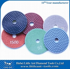 4 Inch Flexible Stone Polishing Pads