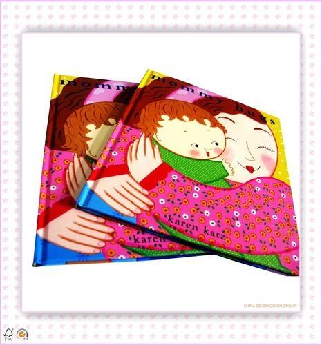 Custom coloring cheap hardcover book printing 1