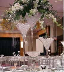 martini vase wedding decoration glass huge table vases.