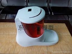 自动喂食机手板模型