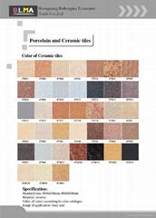 porcelain tiles and ceramic tiles