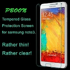 Tempered glass film screen protector for samsung note3