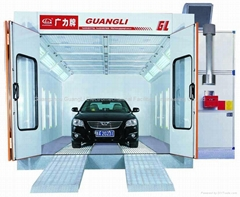 2014 GL1 Guangzhou semi down draft spray booth for the car