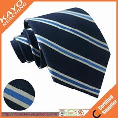 100% silk woven necktie