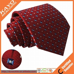 Custom designed silk tie with box set wholesale and retail