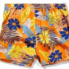 泳衣沙滩裤升华印花