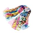 雪纺围巾数码印花 3