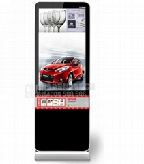 微信互動營銷線下吸粉廣告機