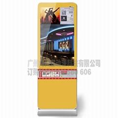 KTV引人流神器微信廣告42寸廣告展覽器材 照片拍立得
