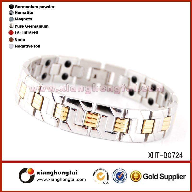 優質鈦鋼手鏈 4