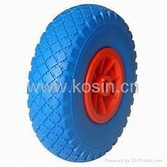 PU Tubeless Tire for Handtruck Wheel Barrow