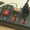 10口 USB插座充电器 3