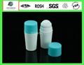 Cosmetic packing 50ml PET roller ball bottle Manufacturer 1