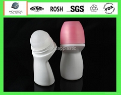 china plastic roll on bottle for liquid medicine or cosmetics pack
