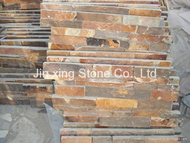 Natural Stone Exterior Wall Cladding R 042 Jinxing China Manufacturer