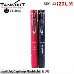 120LM pen flashlight fom tank007  E06