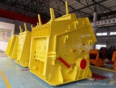 Hongji mobile impact crusher hot sale in china