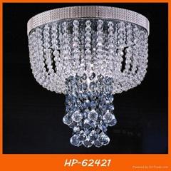 Modern crystal ceiling lamp