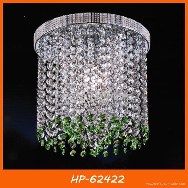 Modern crystal ceiling lamp 2