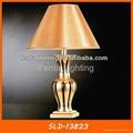 Modern gold ceramic table lamp for hotel 4