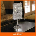 Decorative desk lamp crystal table lamp