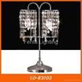 Decorative desk lamp crystal table lamp 2