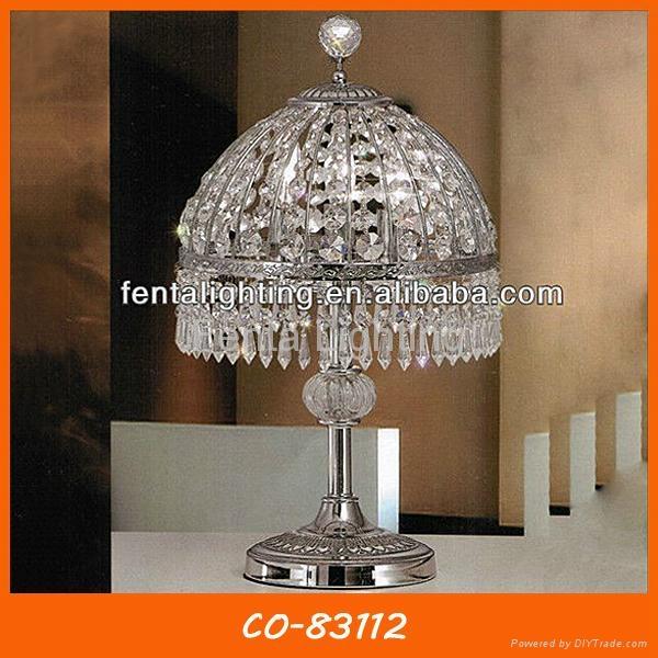 Decorative desk lamp crystal table lamp 4