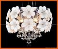 Flower crystal LED ceiling pendant lamp 3