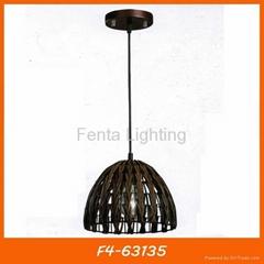 Handmade bamboo pendant lamp/light
