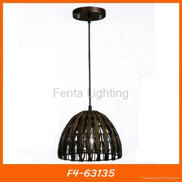 Handmade bamboo pendant lamp/light 1