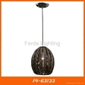 Handmade bamboo pendant lamp/light 2