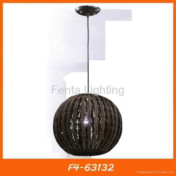 Handmade bamboo pendant lamp/light 3