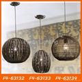 Handmade bamboo pendant lamp/light 5