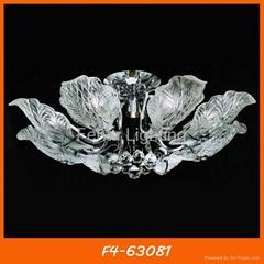Modern Glass Chandelier Ceiling Lamp/Light