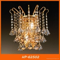 Modern bedside crystal wall lamp 4