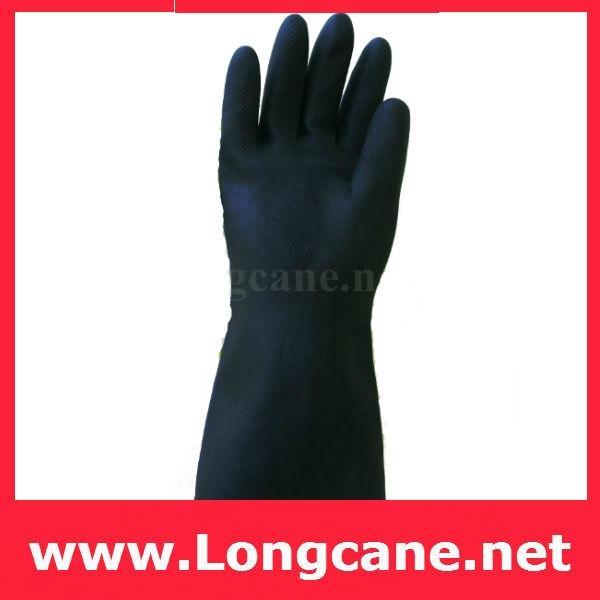 Elephant King Black Industrial Rubber Gloves / Industrial Gloves 2